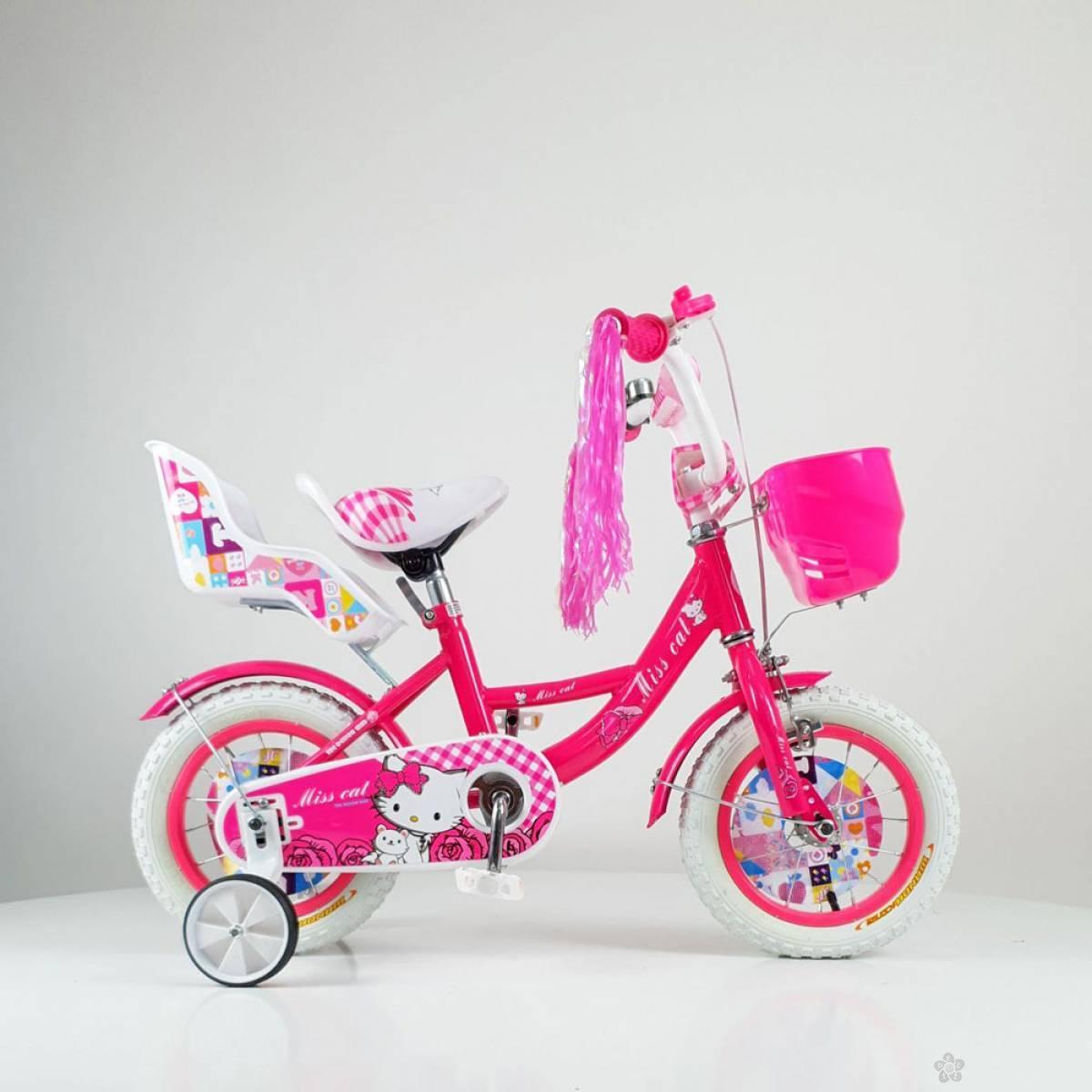 Bicikl za decu model 708-12″ Miss Cat ciklama