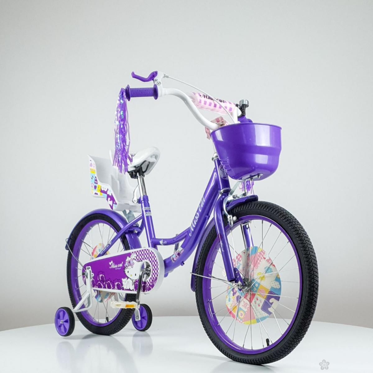 Bicikl za decu model 708-20″ Miss Cat Ljubičasti