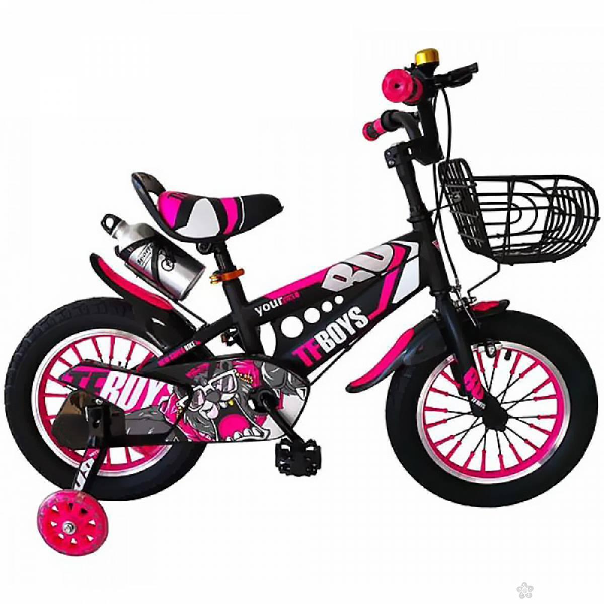 Dečiji bicikl - roze 14''  22883