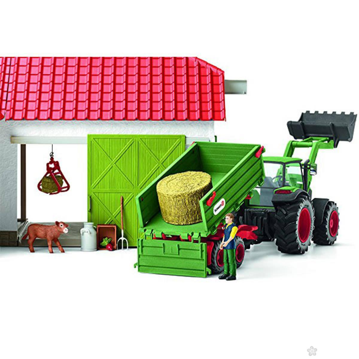 Traktor sa prikolicom 42379