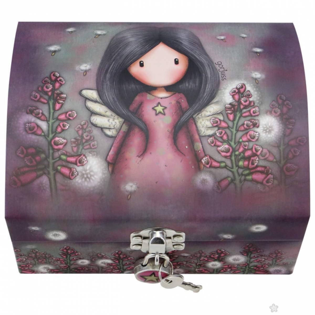 Kutija za nakit sa ključićem Little Wings 701GJ09