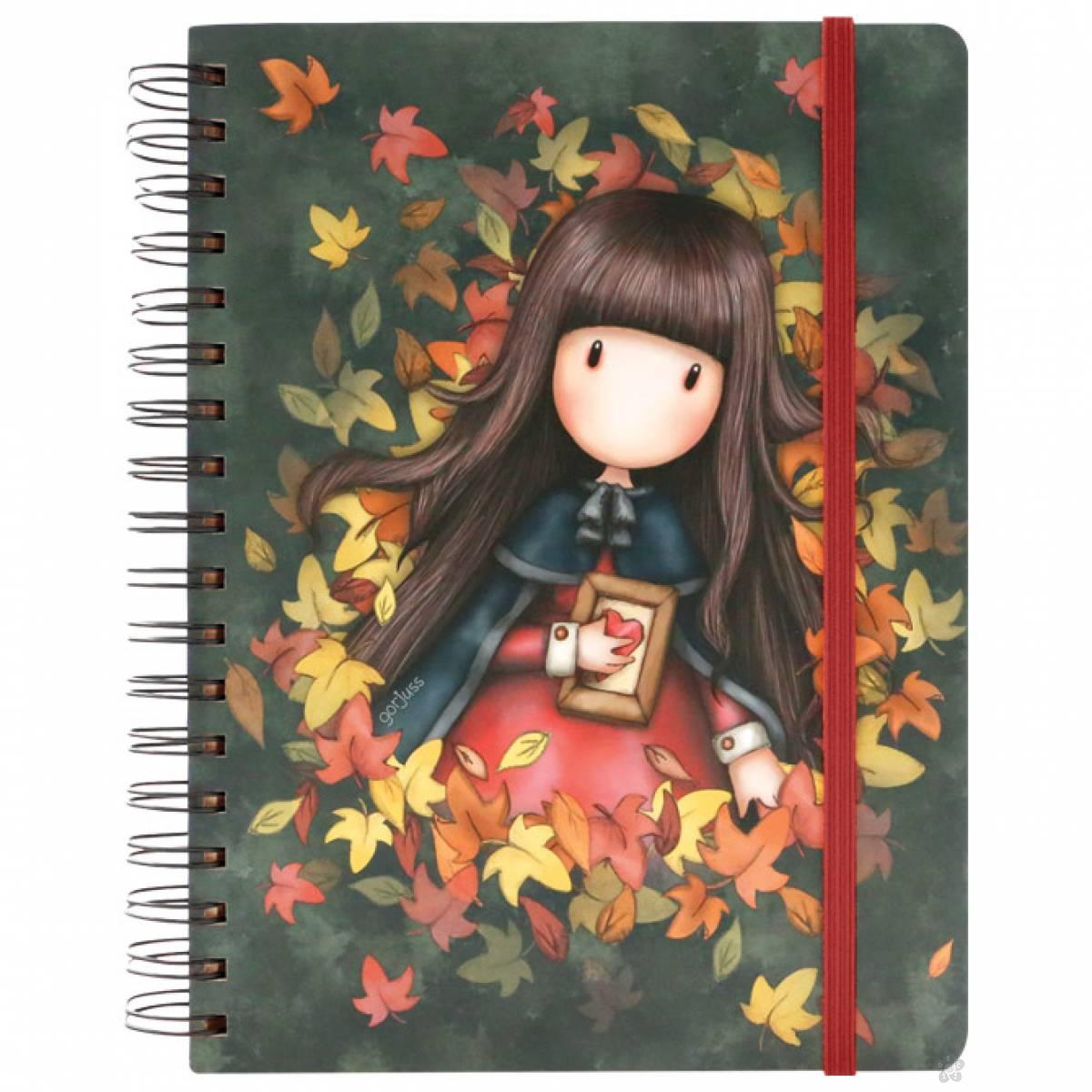 Notes sa spiralom Autumn Leaves 767GJ03