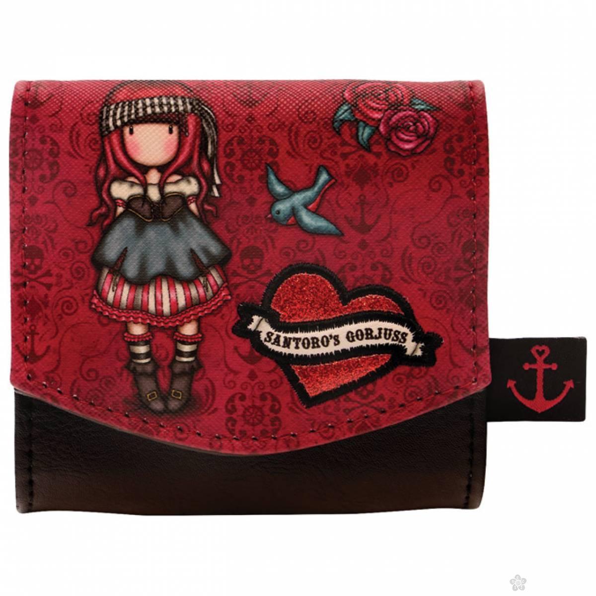 Novčanik na preklop Mary Rose 1074GJ02