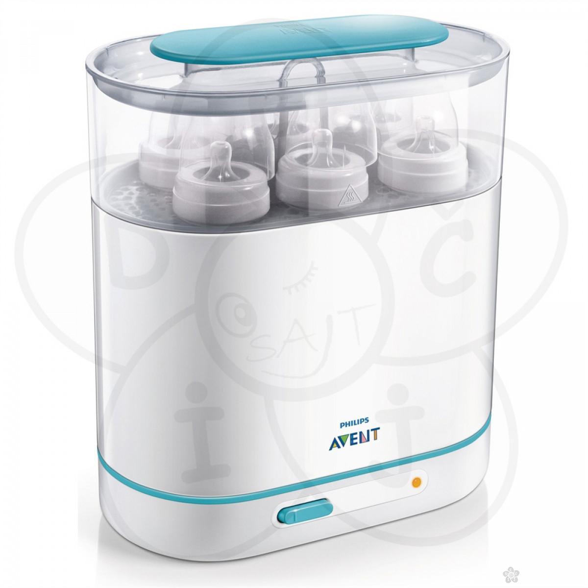 3 u 1 električni sterilizator na paru BPA Free