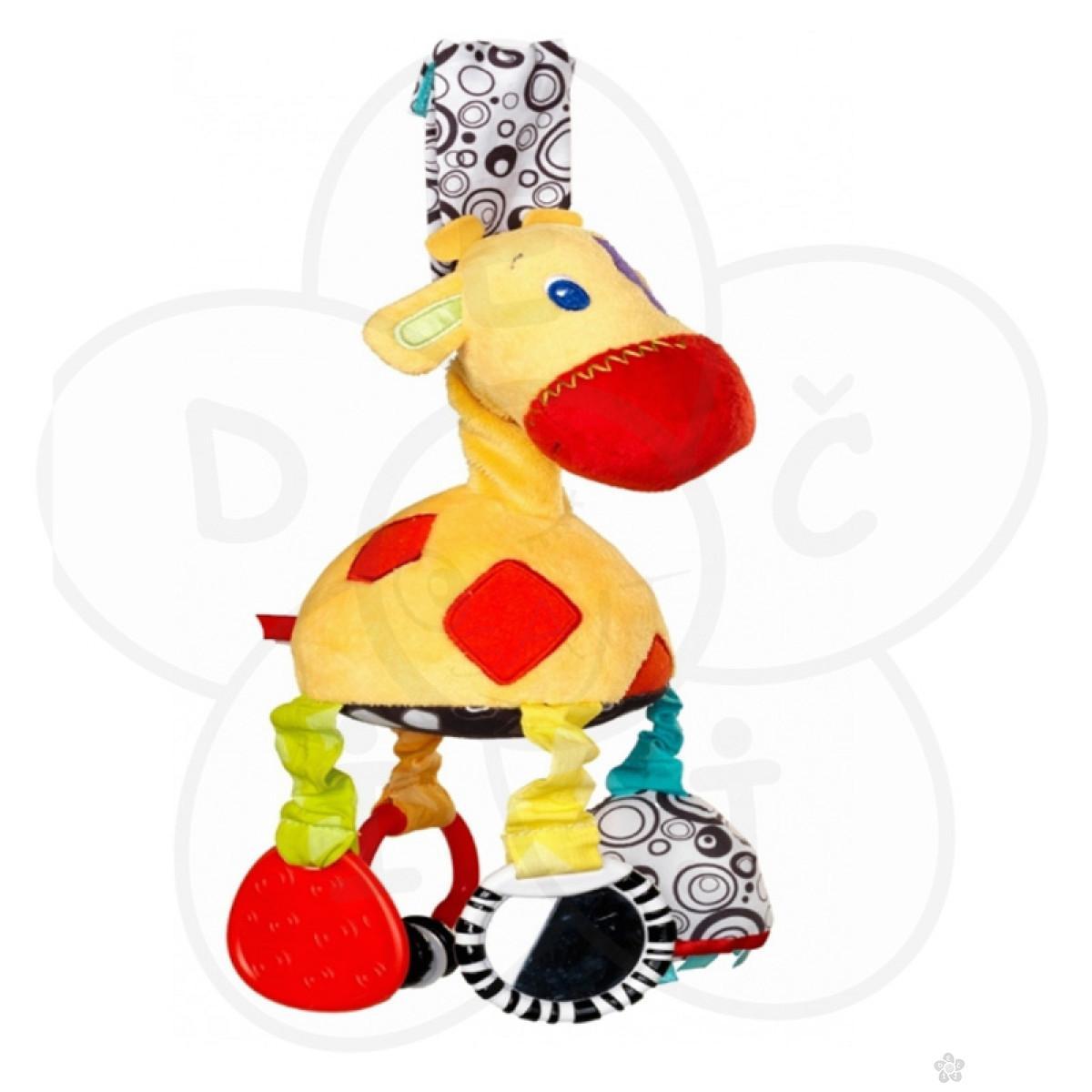 Igračke za bebe - zvečka glodalica žirafa
