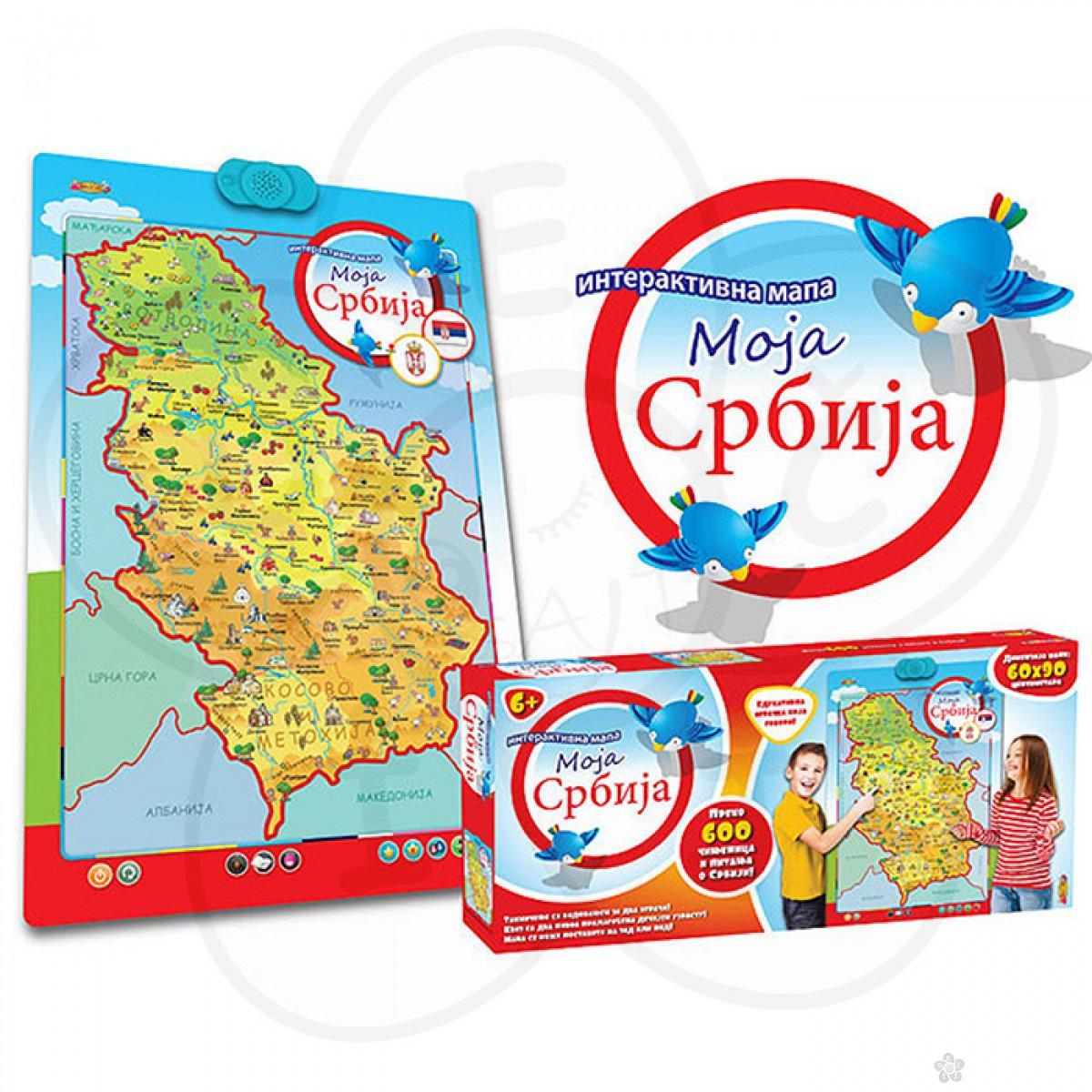 Interaktivna Mapa Srbije Edukativne Igracke Za Decu Decji Sajt