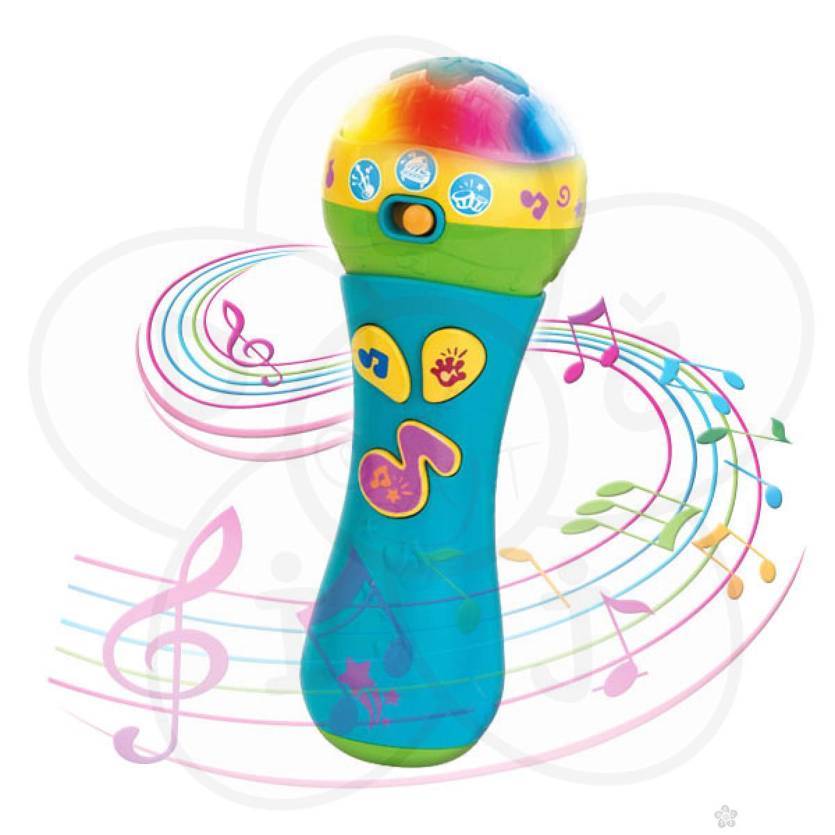 Muzička igračka LL Moj prvi mikrofon