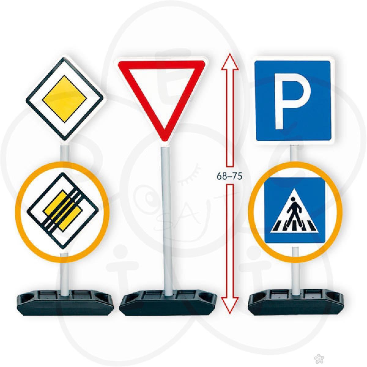 Saobraćajni znaci komplet 12 komada