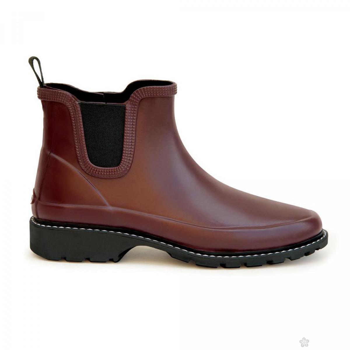 Ženske cipele-gumene bordo