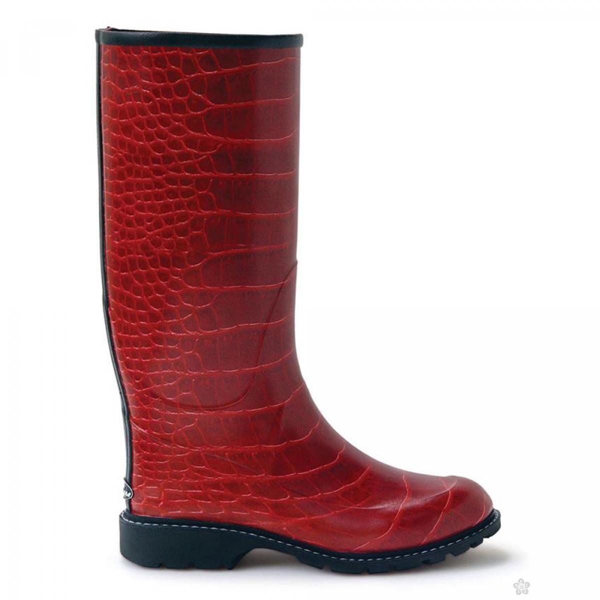 Čizme gumene-crvene