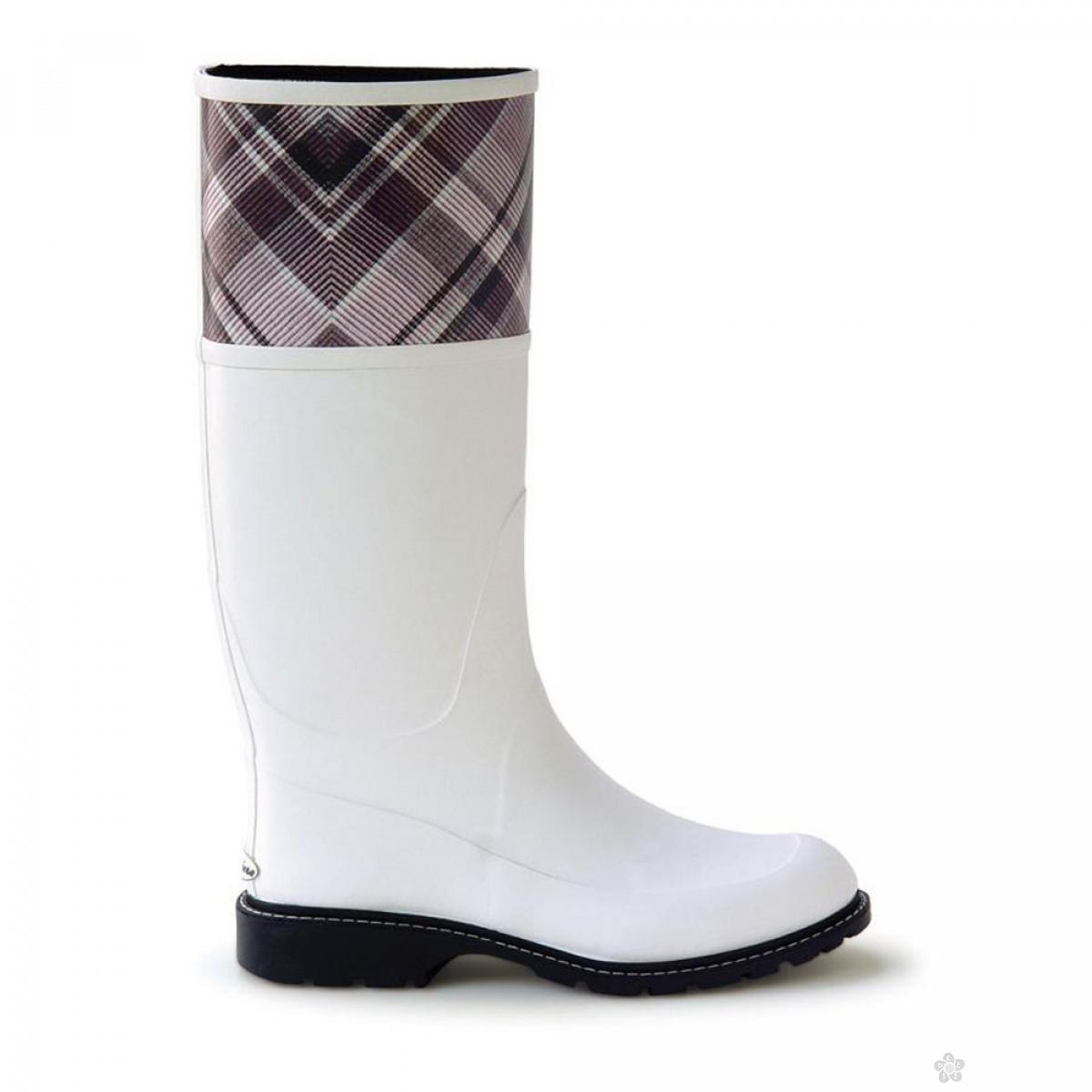 Gumene čizme-bele