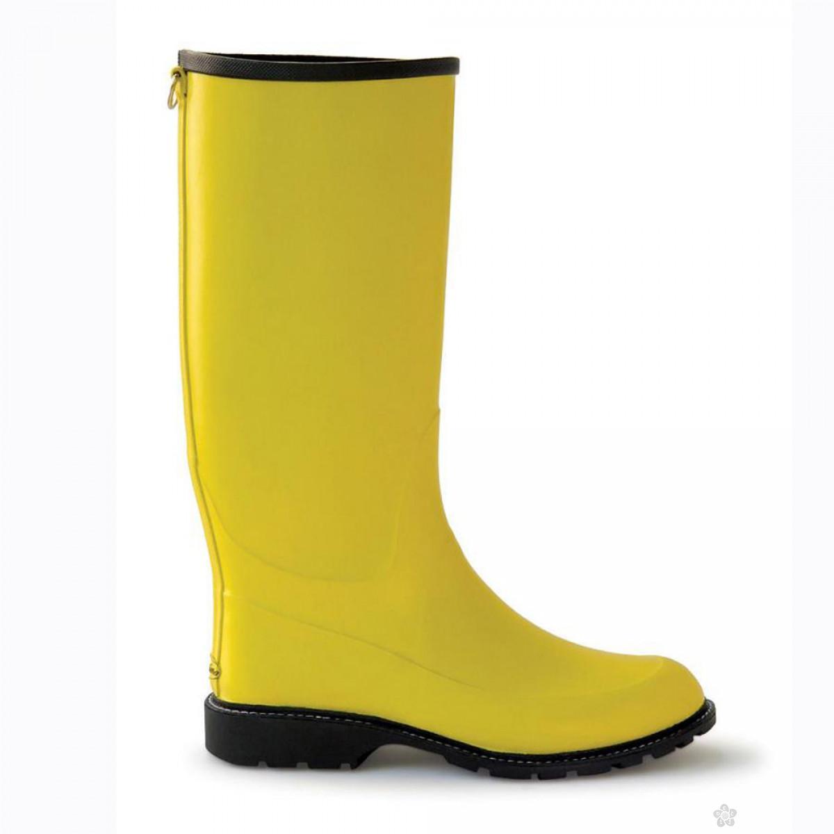 Gumene čizme-žute