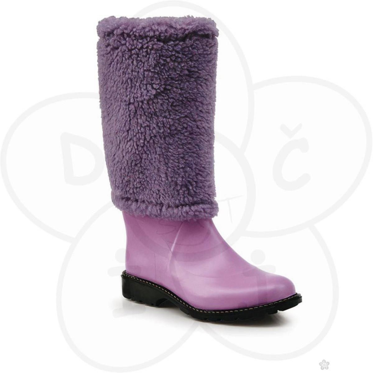 Maniera čizme Classic&Fur, violet