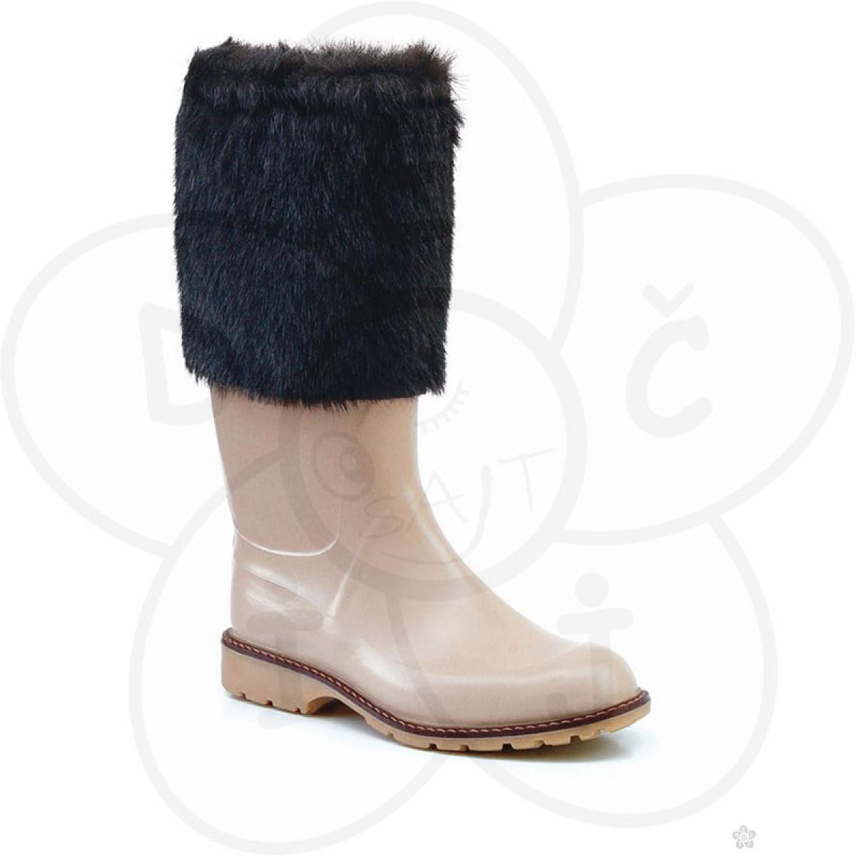 Maniera čizme Classic&Fur, braon