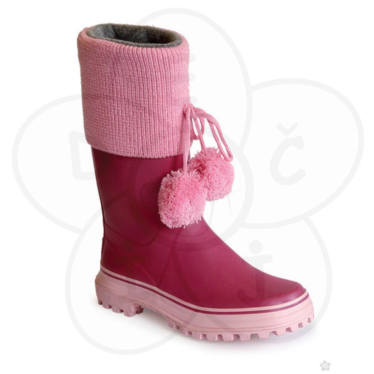 Gumene čizme Brolly-roze boje