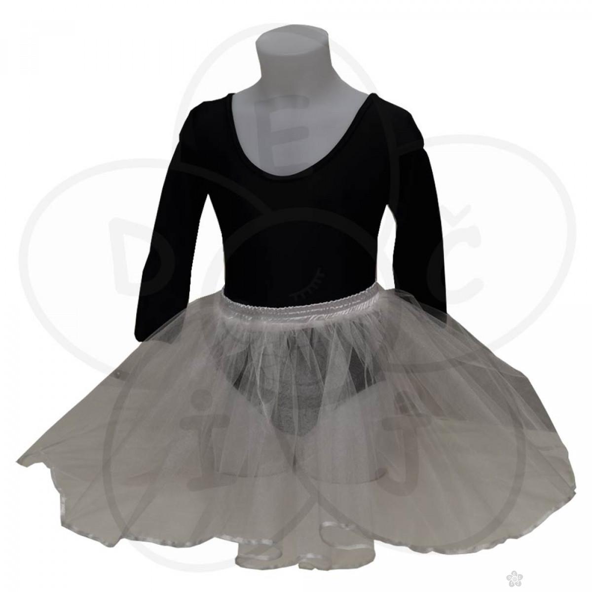 Baletska suknjica, bela