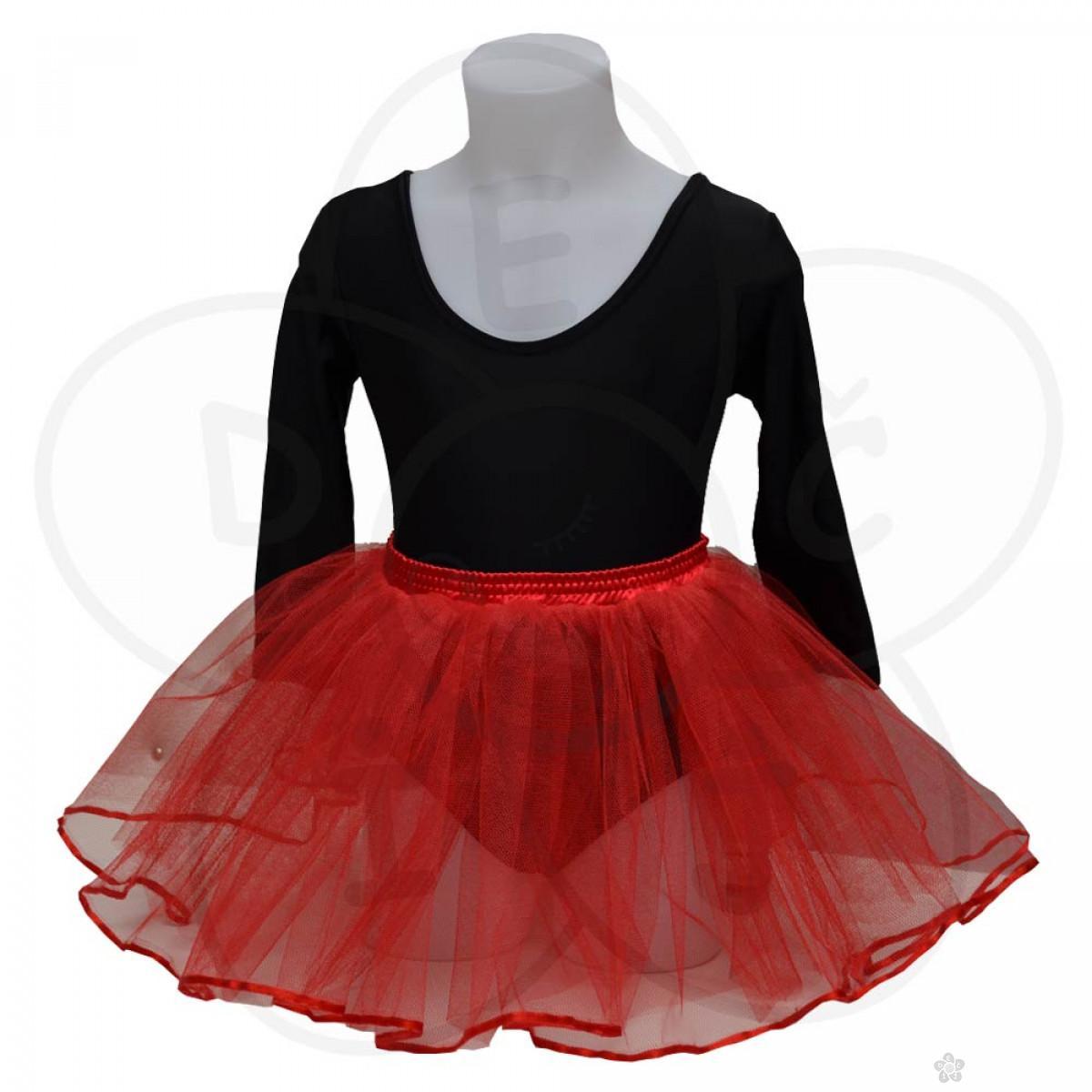 Baletska suknjica, crvena