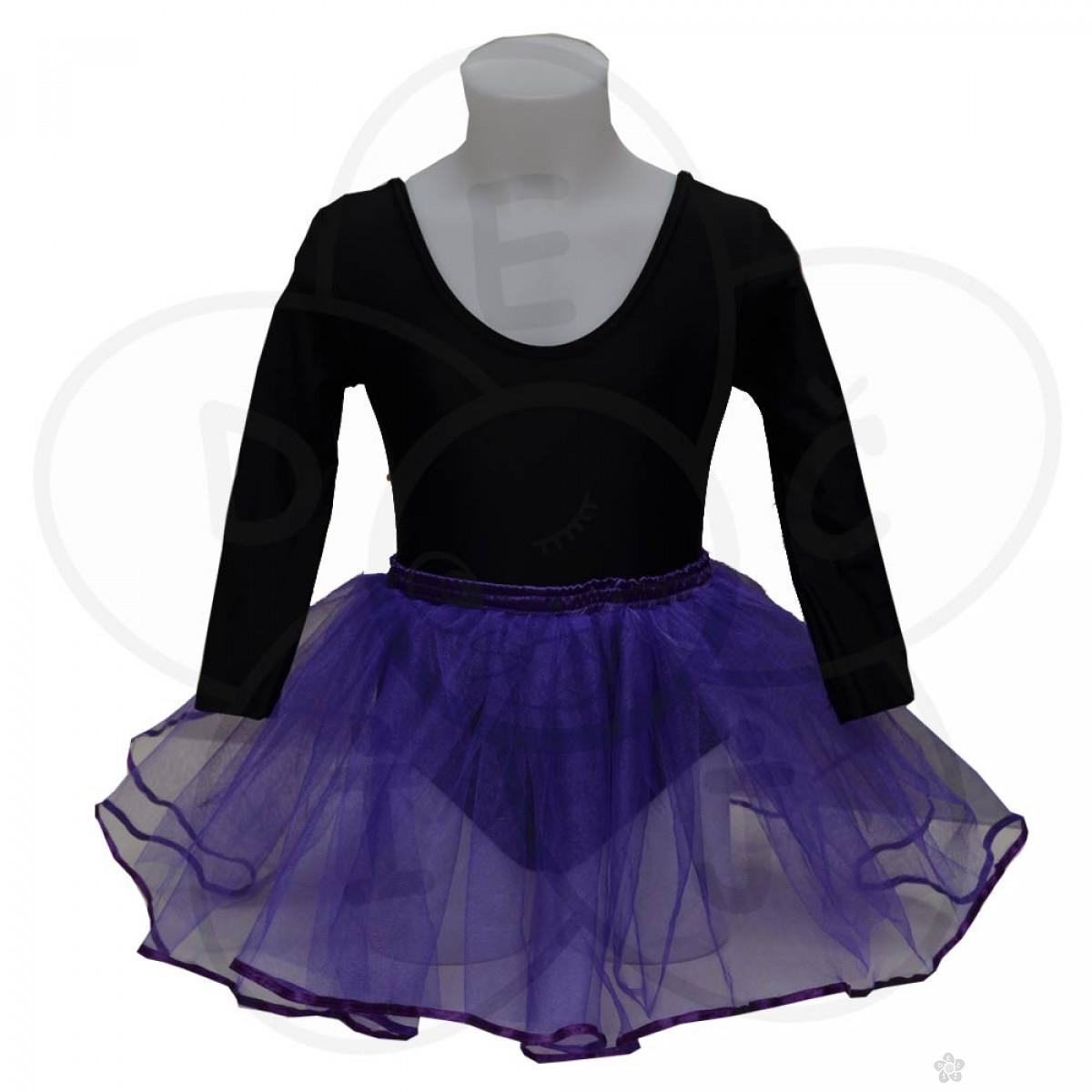 Baletska suknjica, ljubičasta