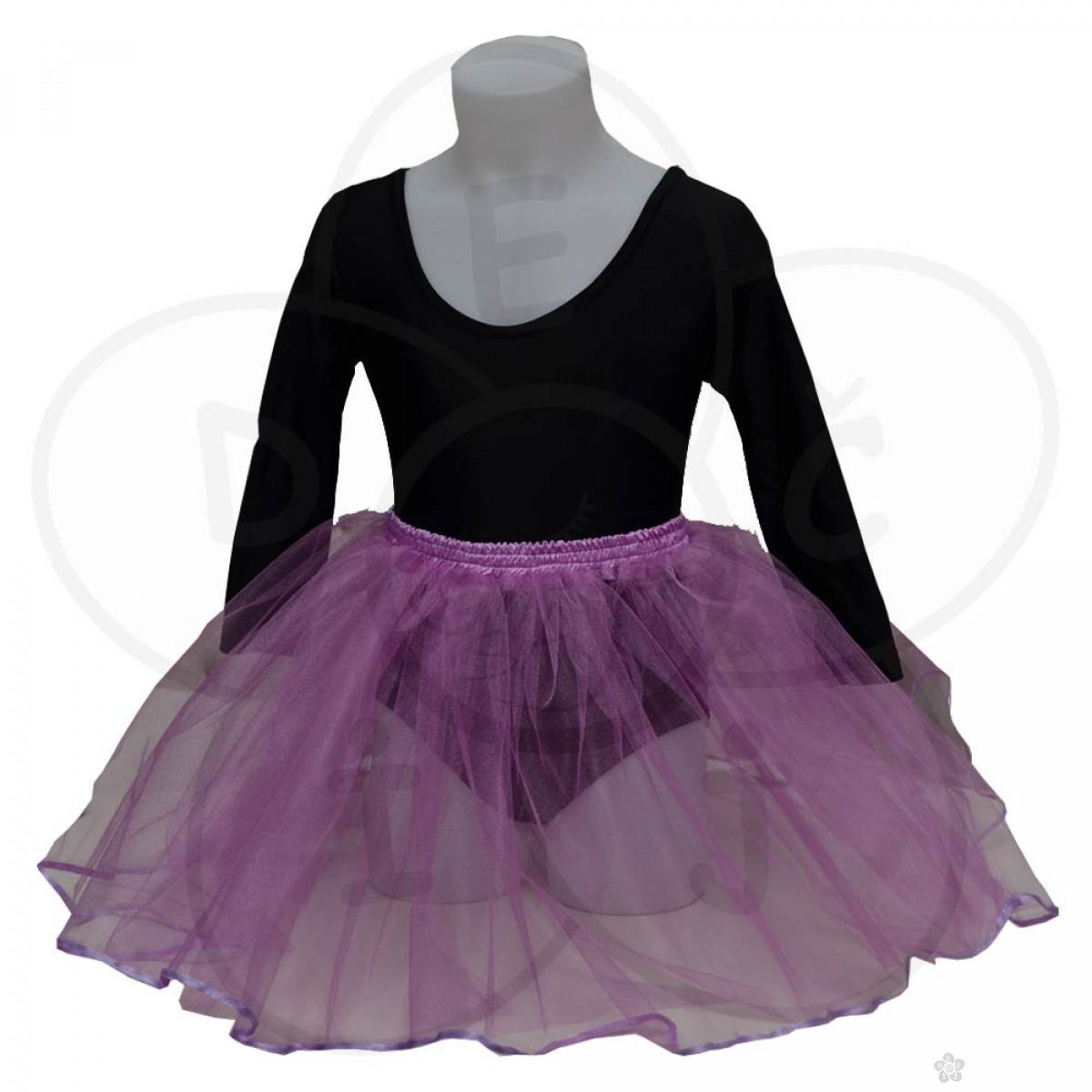 Baletska suknjica, lila
