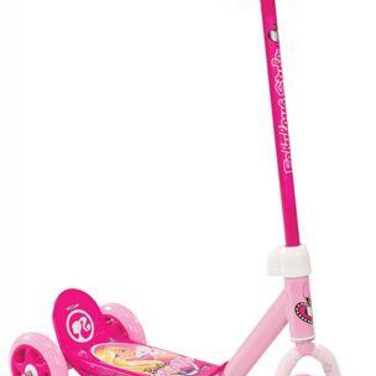 Trotinet Barbie, 0125347