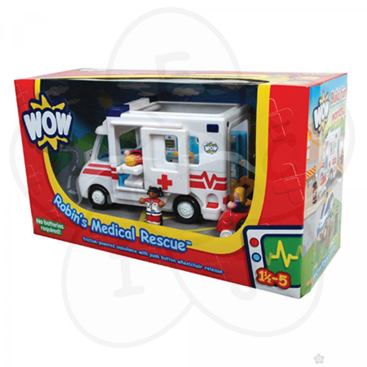 Wow igračka ambulantna kola