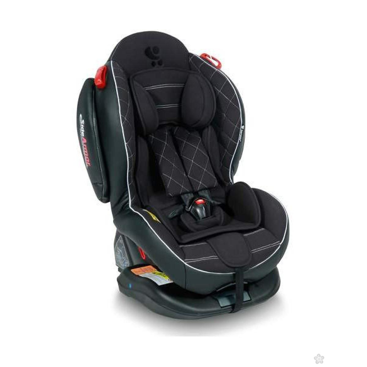 Auto Sedište Arthur Isofix Black Leather 0-25kg