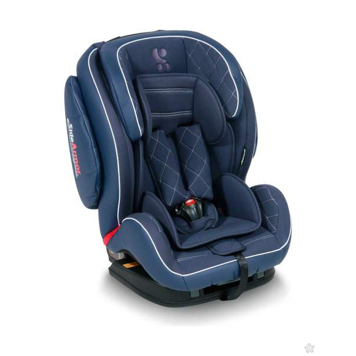 Auto Sedište Mars Isofix Dark Blue Leather 9-36kg