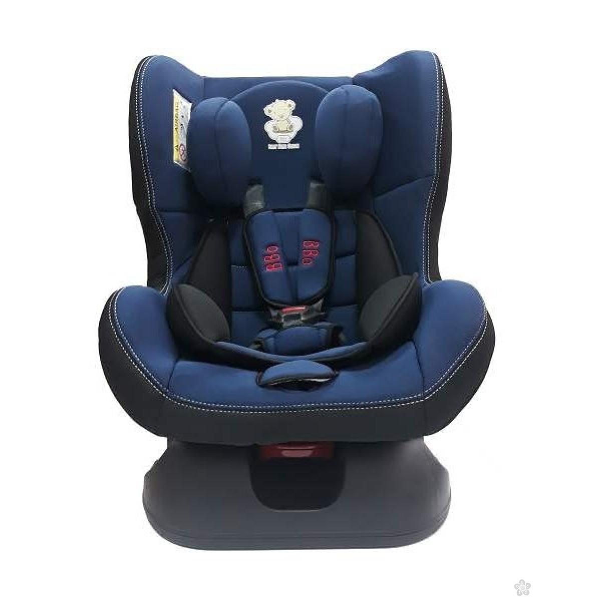 Autosedište BBO Rider tamno plavo 0-18kg