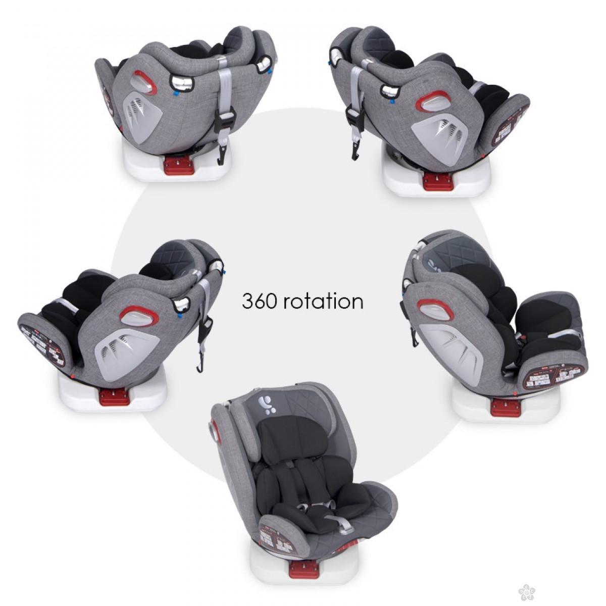 Autosedište Roto Isofix Grey 10071272003