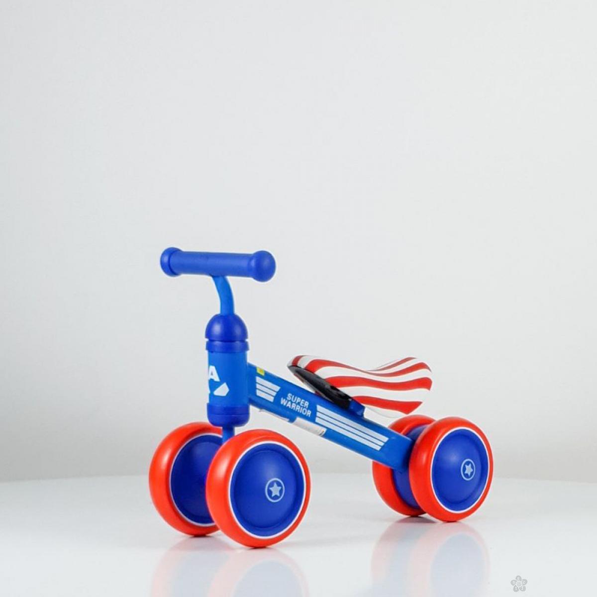 Baby bicikl balans model 753 plava