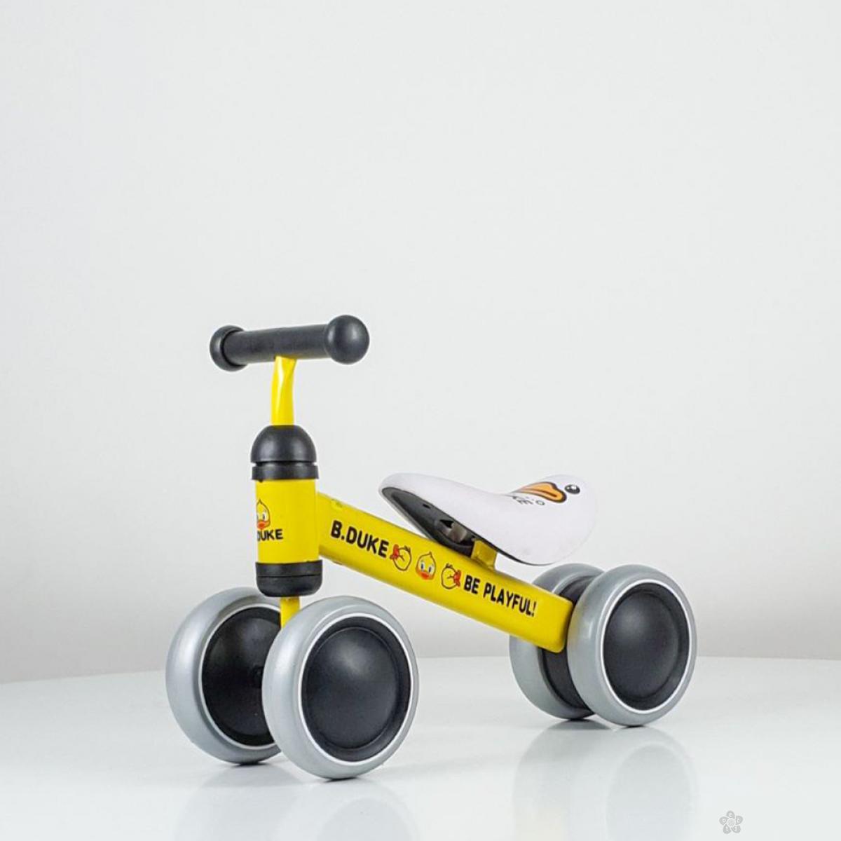Baby bicikl balans model 753 žuta