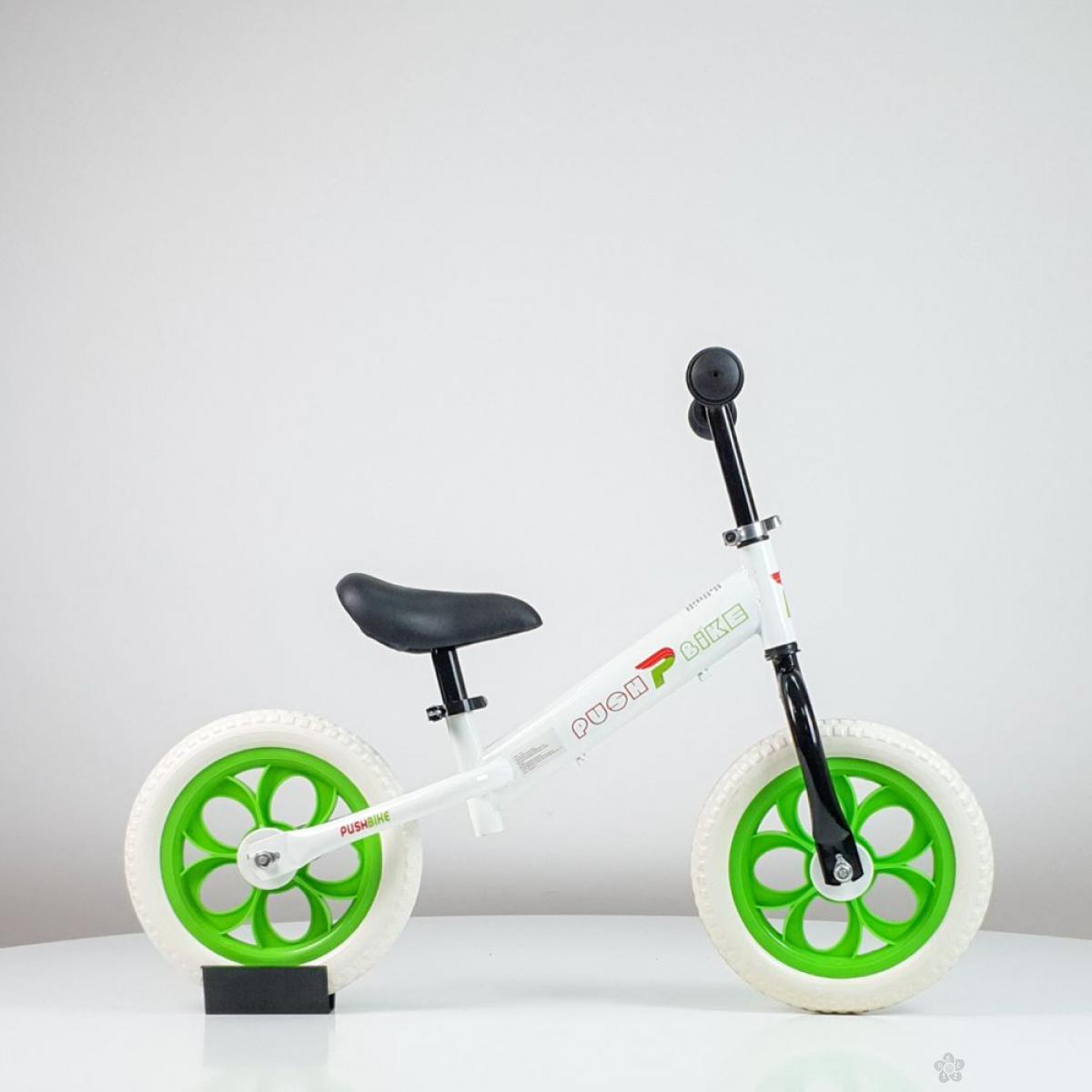 Balans bicikl model 758 bela