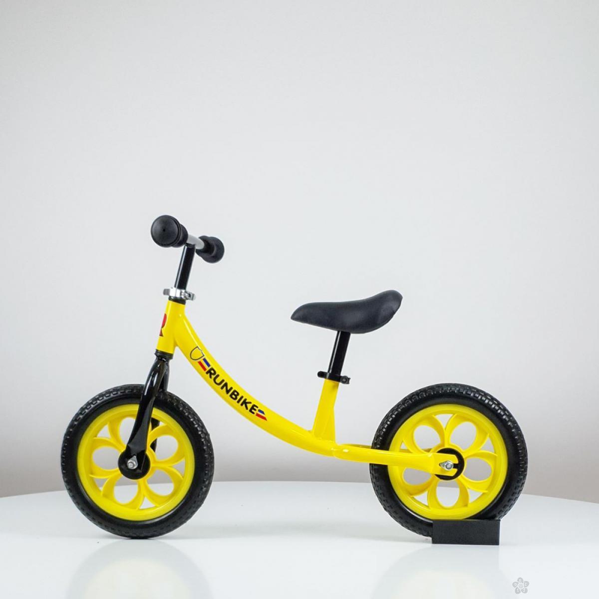 Balans bicikl model 758 žuta