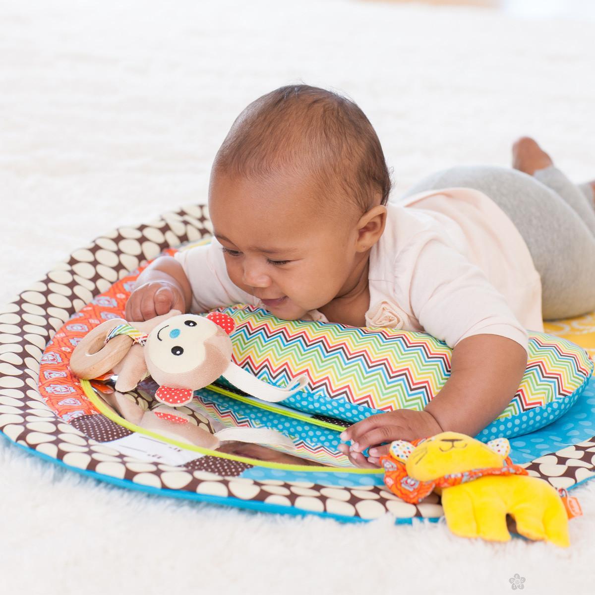 Infantino podloga za igru Tummy time, 115089
