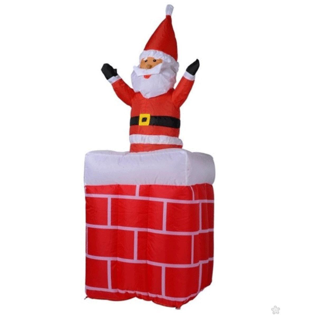 Deda Mraz na dimnjaku na naduvavanje 31988 mag