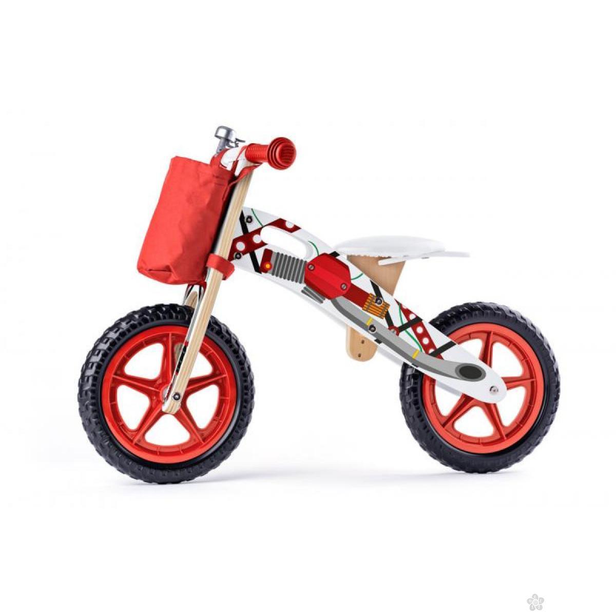 Drveni balans bicikl 93066