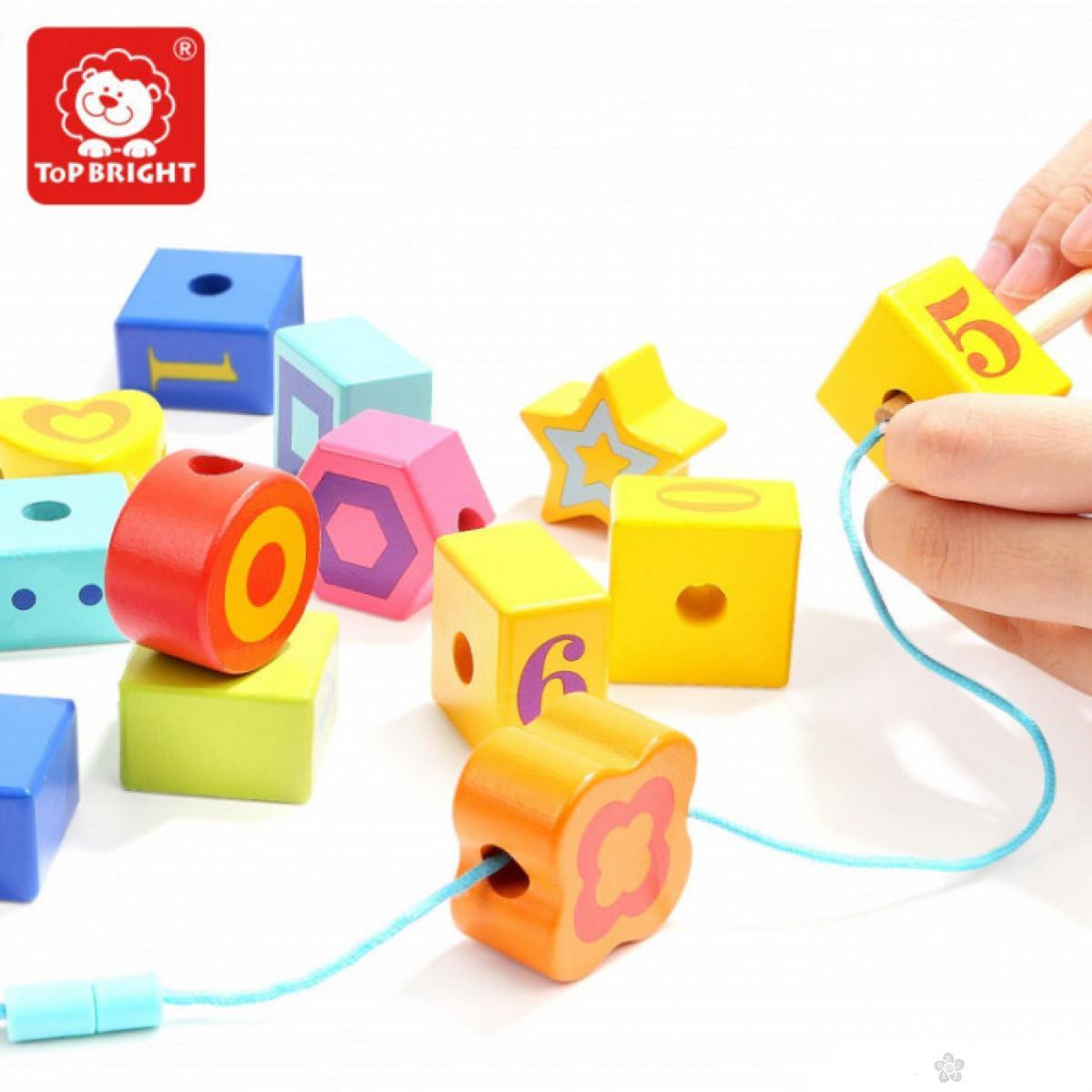 Edukativna igračka naniži gusenicu ToP Bright  120306