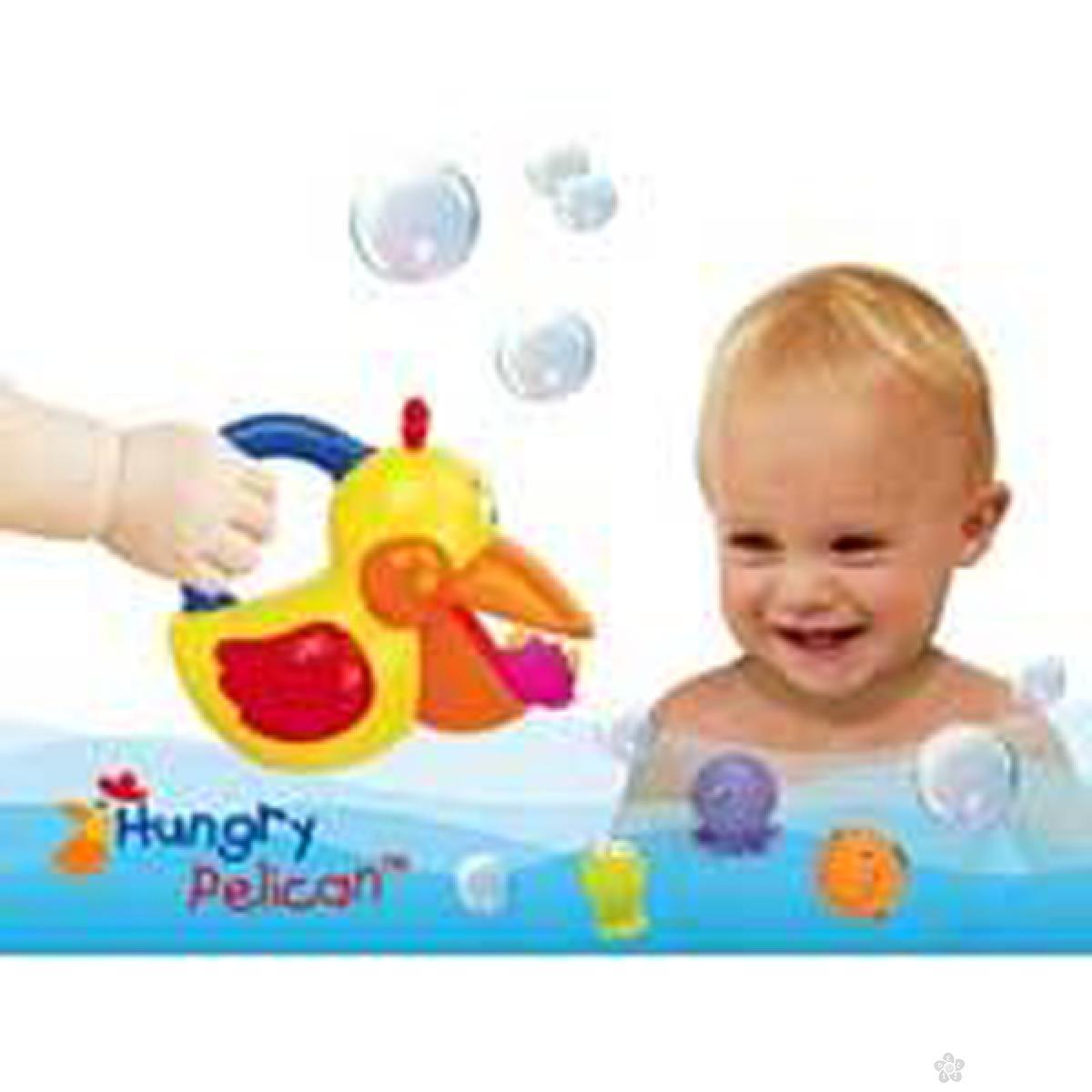 Gladni pelikan u kupatilu Ks Kids, KA10422-GB1