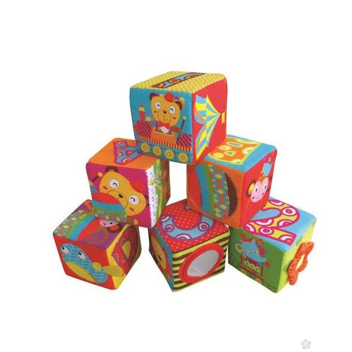 Kocke mekane za slaganje Cirkus 1/6, 0127202