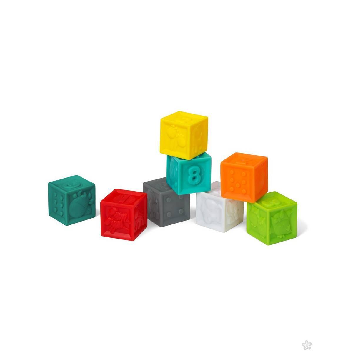 Infantino set gumenih kocki 115165