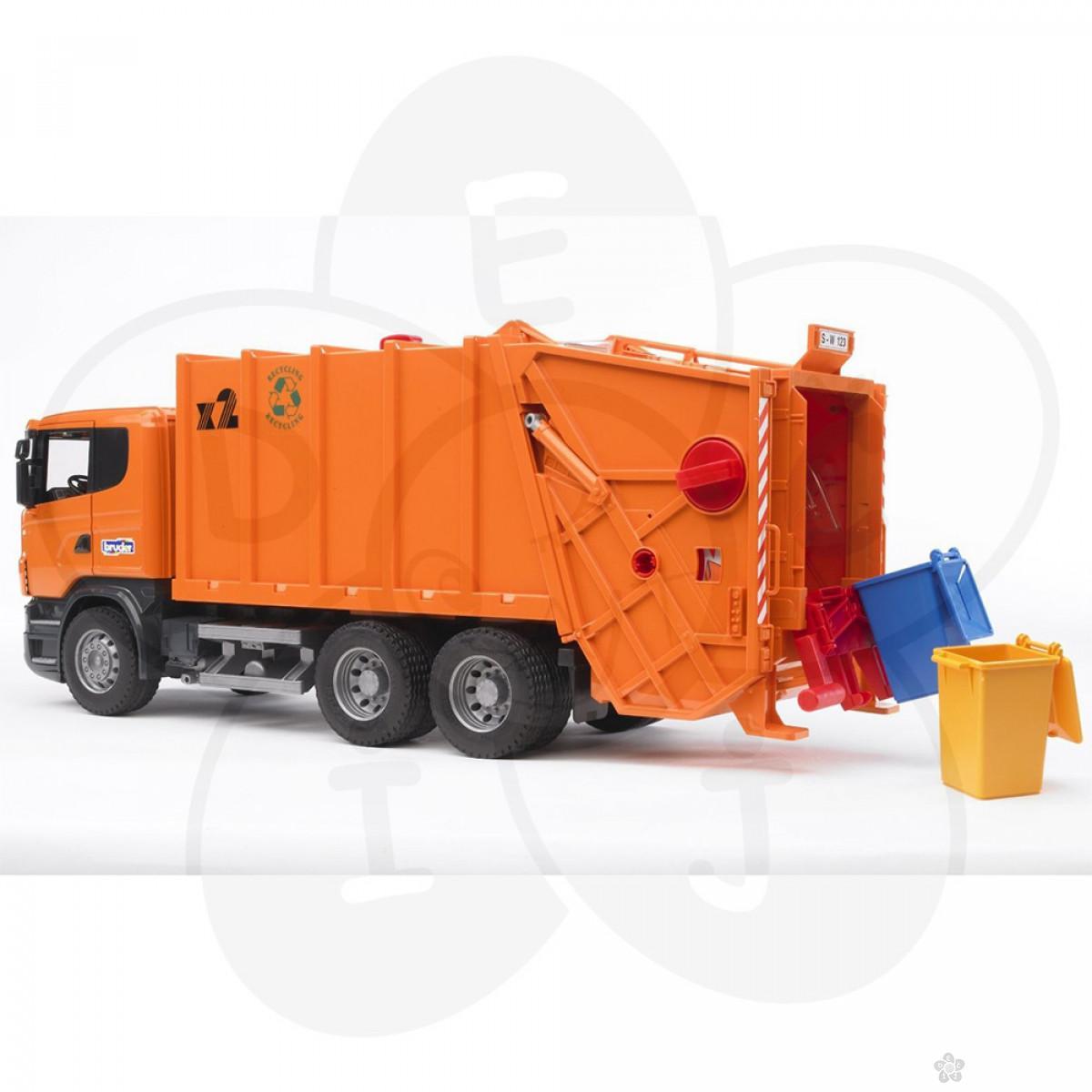 Kamion MB sprinter gradjevinski sa znakovima Bruder, 025373