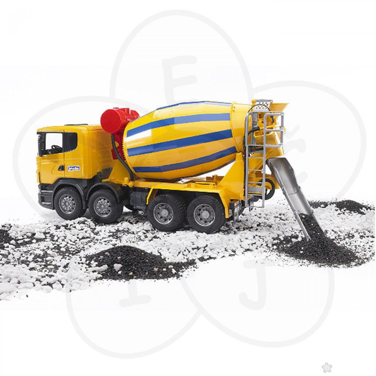 Kamion mešalica Bruder Scania