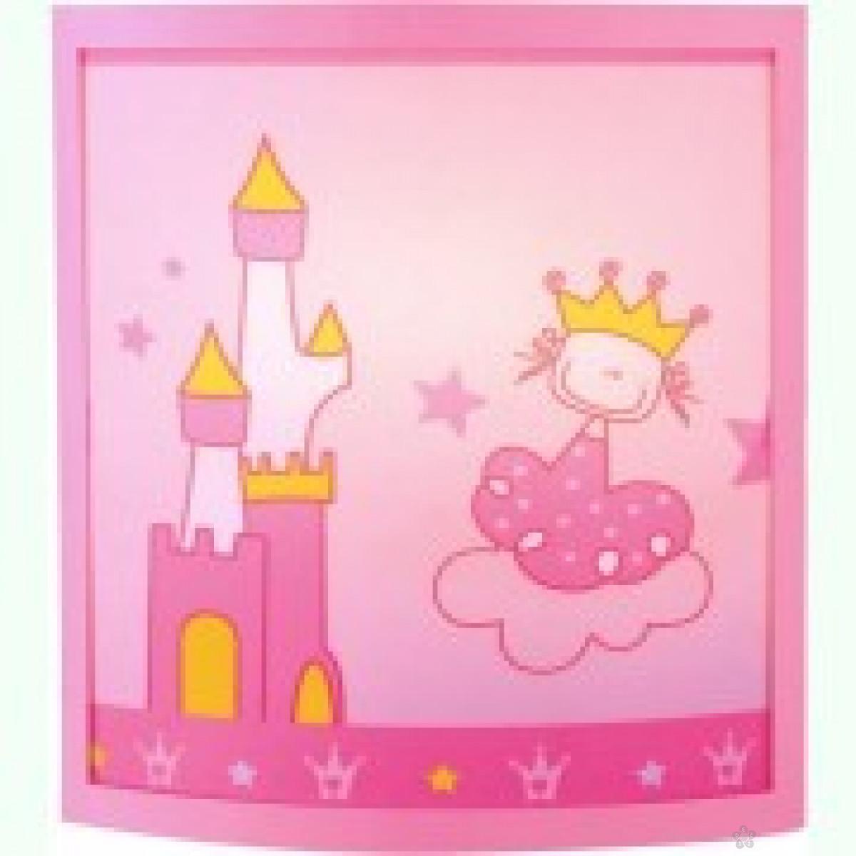 Zidna lampa-princeza