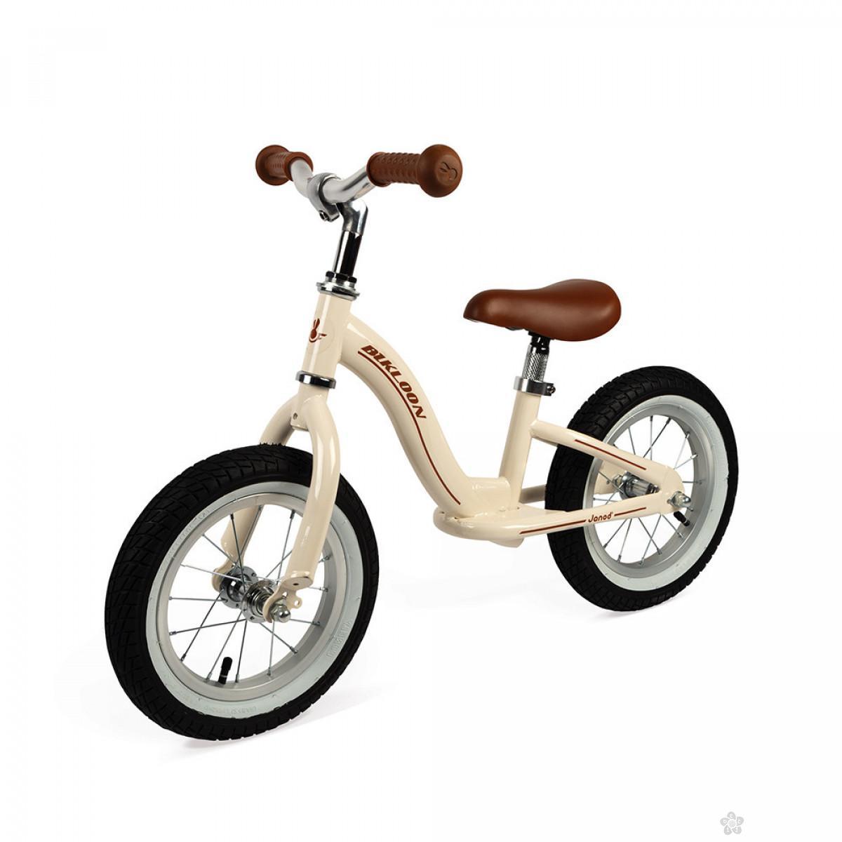 Metalni balans bicikl Vintage Beige J03294