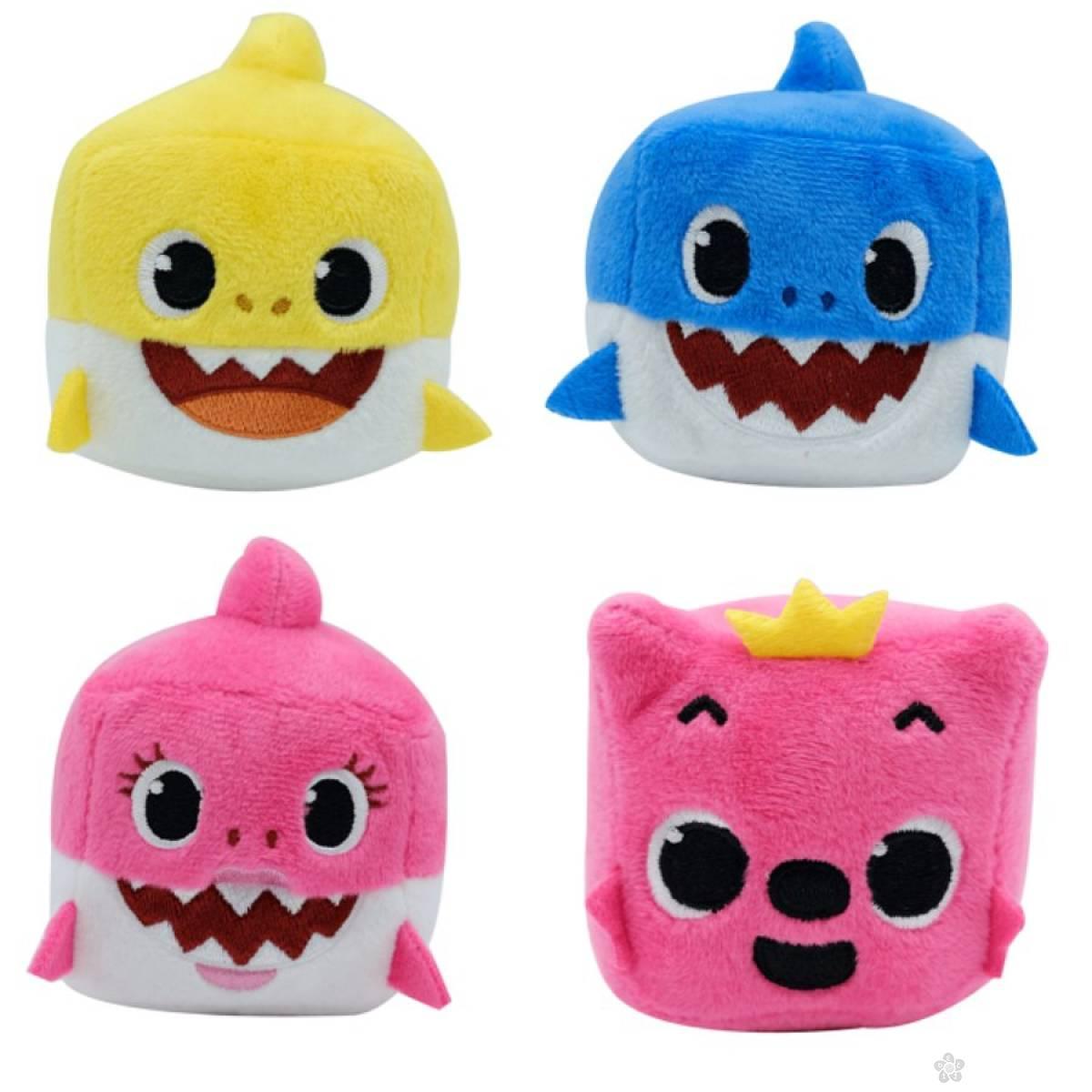 Plišane zvučne kocke Baby Shark PFAC-03301-10