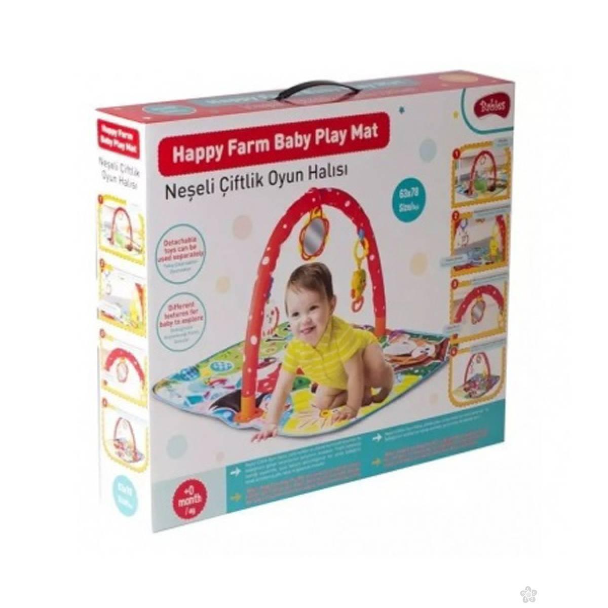 Baby Podloga za igru Happy Farm 42182