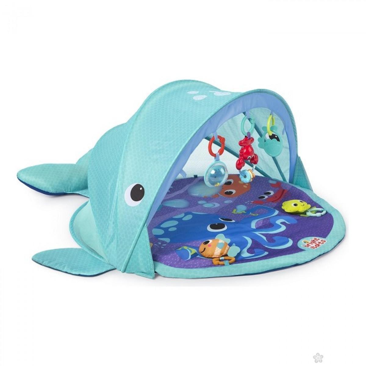 Podloga za igru Explore & Go Whale Gym