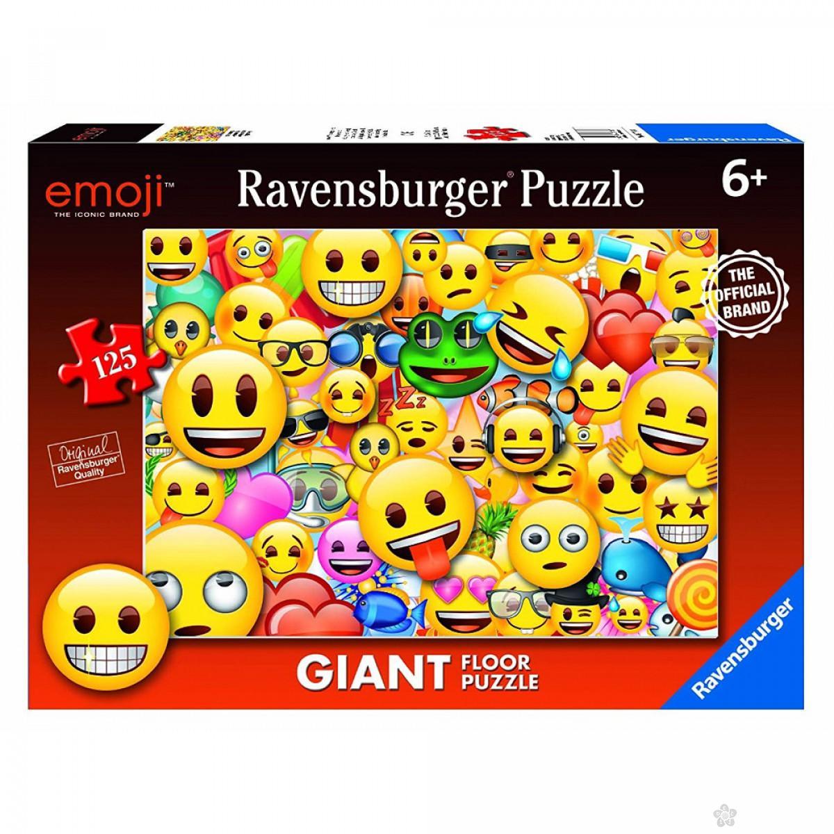 Ravensburger puzzle (slagalice) - Smajli, RA09788