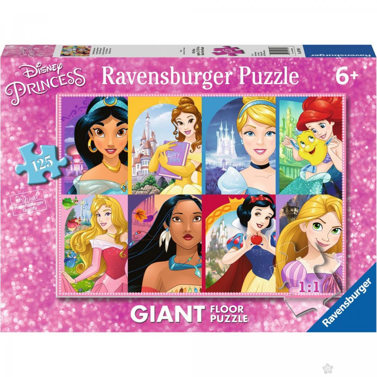 Ravensburger puzzle (slagalice) - Svet princeza, RA09789