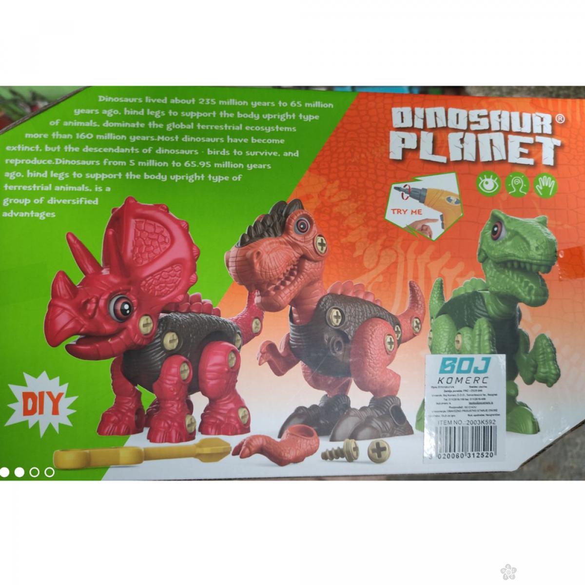 Set - sastavi dinosaurusa